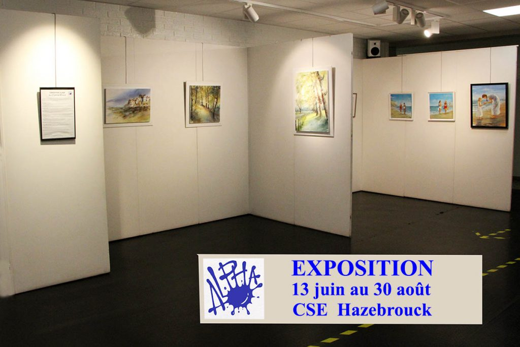 Exposition de l'association Hazebrouckoise, ALPHA
